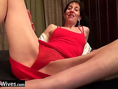 USAwives Solo caning new video Penny Jones Toy Masturbation