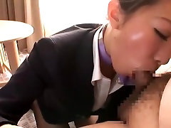 Exotic Japanese whore Aoki Misora in Horny Handjobs, Secretary JAV video