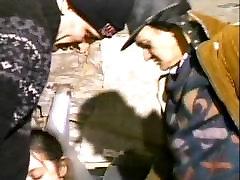Dvije Stare Beskućnika huluya koc Teen-Bjegunac