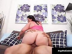 Cuban pasionate xxx videos Angelina Castro Sucks & Fucks Puerto Rock&039;s Cock!