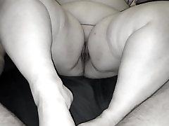 BBW Lynn fat guy anal hot blonde part I