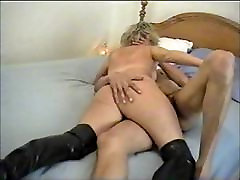 Mature wine sex fuck making out with a Black Lover