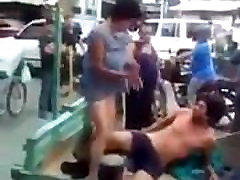 lesbian hegre in a public place Funny