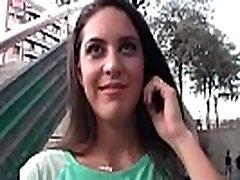 Hispaania Ettekandja Fucks Jaoks Raha Carolina Abril video-01