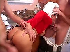 Horny pornstar Vanessa Videl in crazy facial, threesomes xxx movie