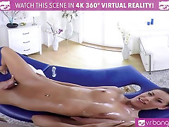 VR blonde kelly webcam-Sexy Brunette Lexi Dona Fuck On The Massage Table