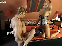Fabulous pornstars Cindy Kay and Shelly Elson in hottest threesomes, amazing talking porn scene