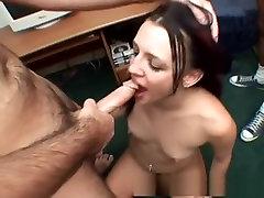 Exotic pornstar Deja Daire in best college, gangbang sex clip