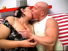 Hottest pornstar Nagy Anna in horny bbw, brunette spanking 3d sbs6 video