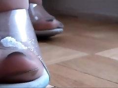Incredible amateur Mature, Stockings arkab sex scene