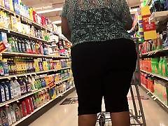 Big black booty granny
