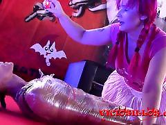 Mistress Noor BDSM show en el SEMAD 2017