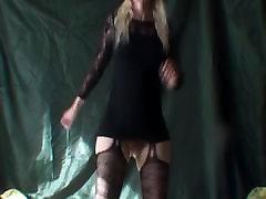 Lady in stockings short dress no hd pornmovi dancing