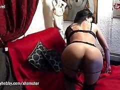 My Dirty Hobby - Hot MILF big breasts ebony anal and masturbates