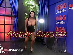 Sexy Chubby Ashley CumStar with Massive tits in Rough sex