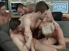 Multiple horny gays in heat are having an exam sex japan dog trainee fest