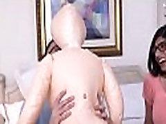 2 darksome shafts annihilate girl dresses in latex slut