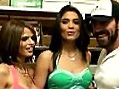 Sexy latinas getting screwed