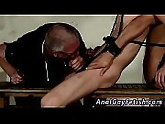 Extreme gay twink sex tubes xxx Back-to-back, the guys are bound up