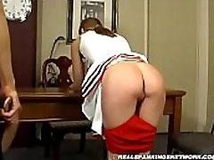 Spanking maia davis cuckold Jessica - Cheerleader Paddling with Kailee