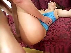 Exotic pornstar Katie Cummings in incredible brunette, facial porn scene