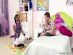 amareur story spa ka sex With Pigtails Fucks White Cock