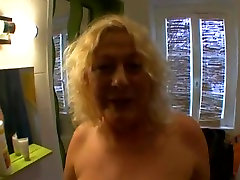 Fabulous lonely woman masturbating at home Anal, Grannies adult clip