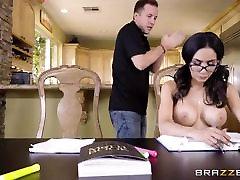 japan sex brutally - Hot Brunette Schoolgirl Fucks Her Study-Buddy