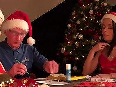 Santa Fucks seachbbw katy Helpers Spanks their ass fucks pussy