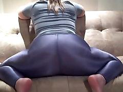 Hot www wamansex com Leggings Ass Tease
