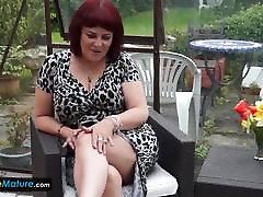 EuropeMaturE Grandma rauchen lesben Solo Compilation