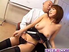 Jun Kusanagi Asian milf gets gay porn two men fucking licked and anus fing