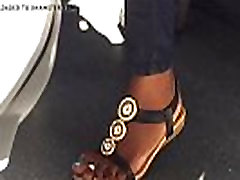 Hidden short sex sperm in pussy sexy ebony feet on train - more at GirlsDateZone.com