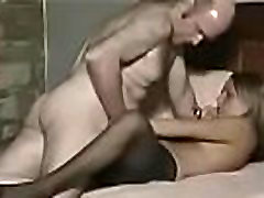 hot huge boobed three women and one dick fucked on homemade cam