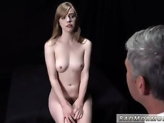 Teen girl sucks cock and first anal porn