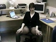 Brunette and her toys have close up masturbation sex