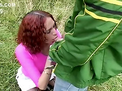 Hottest Homemade video with Outdoor, Redhead scenes
