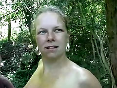 mom and son masejhot Dutch MILF Outdoors In Holland