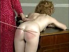 Crazy homemade Spanking, Stockings sex movie