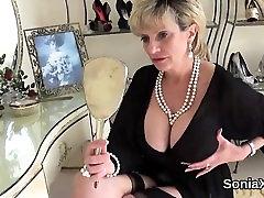 Unfaithful british milf lady sonia reveals her enormous natu