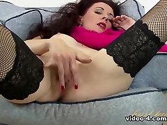 Best pornstar in Incredible Masturbation, Redhead adult clip