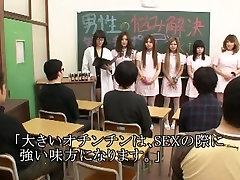 Incredible Japanese chick Jun Mamiya, Maki Takei, Juria Tachibana in Exotic Medical, Handjobs JAV movie