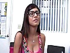 Breasty arab bitch enjoys pussy-licking