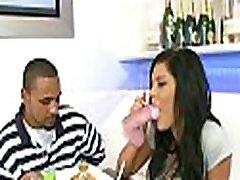 Hot pornstar goes for a blind date