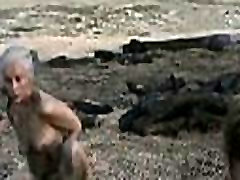 Emilia Clarke Fully Nude in Game of Thrones