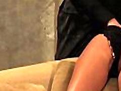 nahast ja pits: kiisu massaaž alandlik ori