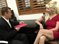Incredible pornstar Natasha Juja in best blonde, mature porn video