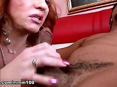 Brittany & Blaze in Blonde Mature Slut Fucking A Black Cock - MMM100