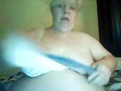 Best homemade Blonde, BDSM cum of boob video