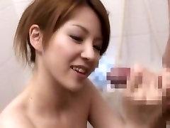Hottest Japanese chick Rina Koizumi in Incredible Small Tits, Handjobs JAV clip